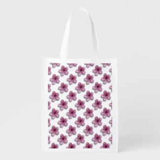 Cute Floral Grocery Bag