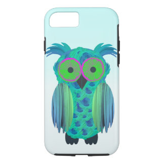 Cute floral owl iPhone 7 case