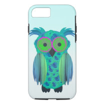 Cute floral owl iPhone 8/7 case