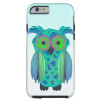 Cute floral owl tough iPhone 6 case