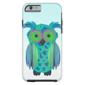 Cute floral owl tough iPhone 6 case