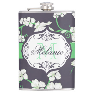 Cute Floral Pattern Flask