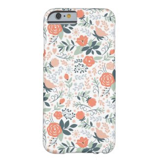 Cute Floral Pattern Girly iPhone 6 Case