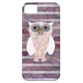 Cute Floral Pattern Owl iPhone SE/5/5s Case