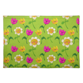 Cute Floral Pattern Placemats