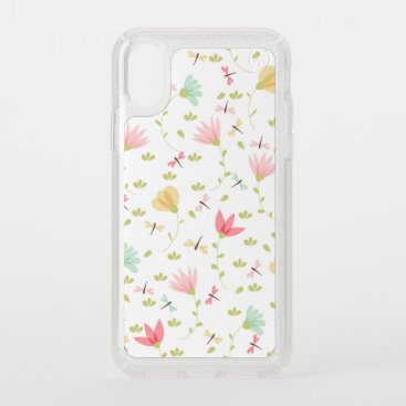 Cute Floral Pattern Speck iPhone XS Case