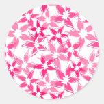 Cute floral sticker