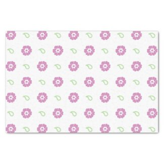 "Cute Floral Tissue Paper 10"" X 15"" Tissue Paper"