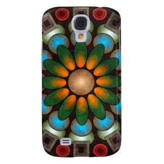 Cute Floral Vector Art HTC Vivid Galaxy S4 Case