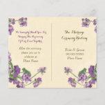 "cute floral wedding program<br><div class=""desc"">Elegant floral wedding program</div>"