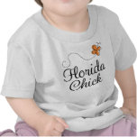 Cute Florida Chick Infant or Toddler Tee Shirt