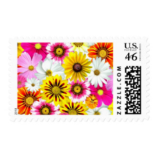 Cute Flower Collage Stamp
