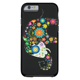 Cute Flower Elephant Floral Animal Vector Tough iPhone 6 Case