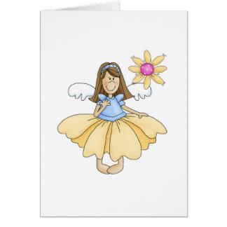 Cute Flower Fairy Card
