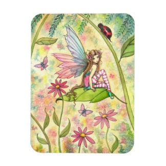 Cute Flower Fairy Magnet
