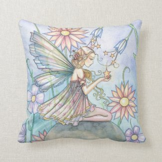 Cute Flower Fairy Pillow
