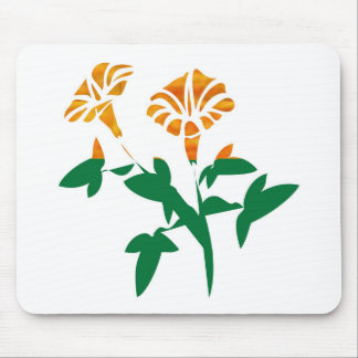 CUTE Flower Graphics BEAUTY in Simplicity Mousepad