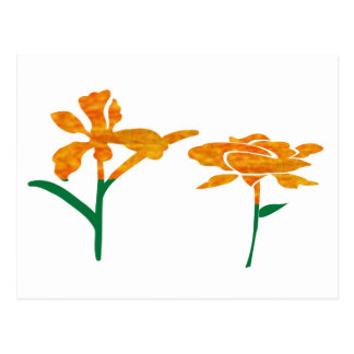 CUTE Flower Graphics : BEAUTY in Simplicity Postcard