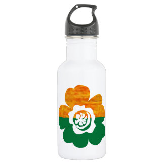 CUTE Flower Graphics : BEAUTY in Simplicity Stainless Steel Water Bottle