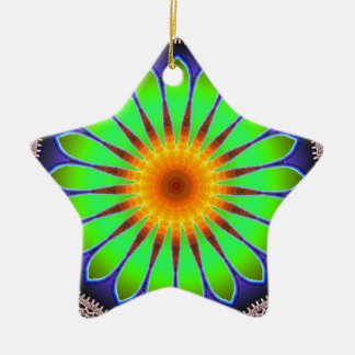 Cute Flower kaleidoscope 3 Ornament