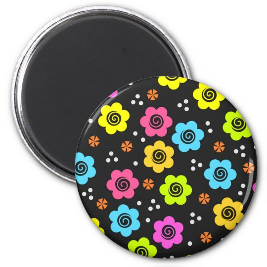 Cute flower  magnet