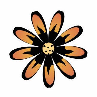 Cute Flower Magnet Yellow Orange