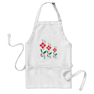 Cute Flower Pattern All Season Creepers Aprons