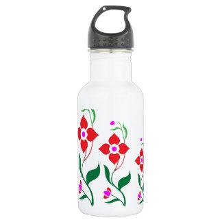 Cute Flower Pattern : All Season Creepers Stainless Steel Water Bottle