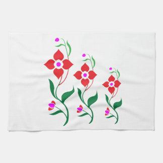 Cute Flower Pattern : All Season Creepers Towel