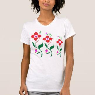 Cute Flower Pattern : All Season Creepers Shirt