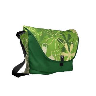 Cute Flower Pattern Messenger Bag