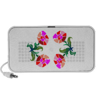 CUTE Flower Show : Decoration Graphics iPhone Speaker