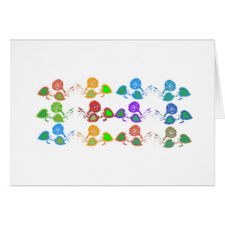 CUTE Flower Show for KIDS n GIRLY Moms Greeting Card
