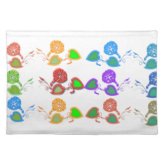 CUTE Flower Show for KIDS n GIRLY Moms Placemats