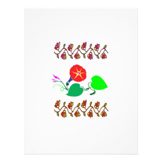 CUTE Flower Show : Happy Holidays Letterhead