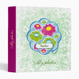 Cute Flowers 2 - binder
