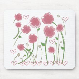 Cute Flowers design! Unique gifts! Mouse Pad