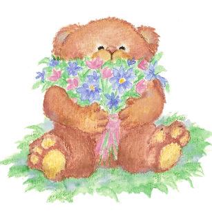 teddy bear stickers zazzle