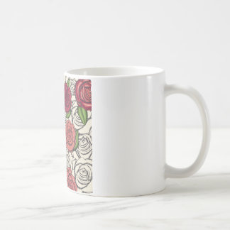 cute flowers taza de café