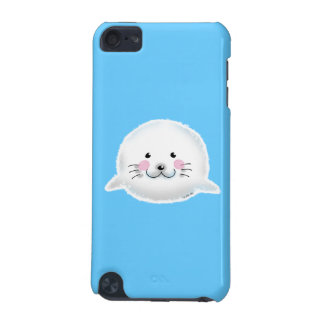 Cute fluffy baby seal iPod touch (5th generation) cases