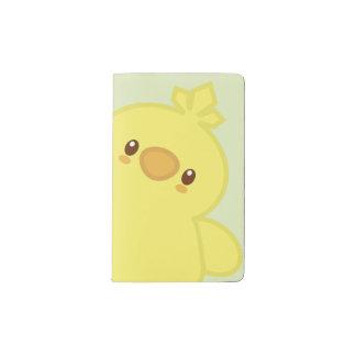 Cute Fluffy Chick Pocket Moleskine Notebook