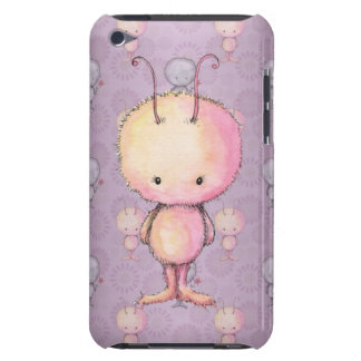 Cute Fluffy Fuzzy Monsters Barely There iPod Case