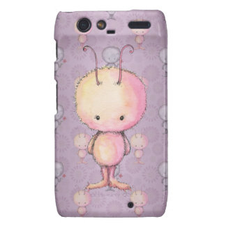 Cute Fluffy Fuzzy Monsters Droid RAZR Cases
