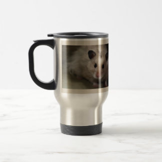 Cute Fluffy Hamster Travel Mug