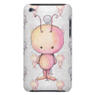 Cute Fluffy Monsters Barely There iPod Cover