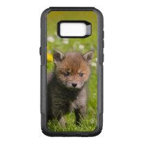 Cute Fluffy Red Fox Kit Cub Wild Baby Animal Photo OtterBox Commuter Samsung Galaxy S8  Case