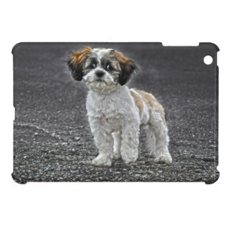 Cute Fluffy Toy Dog Puppy Cover For The iPad Mini