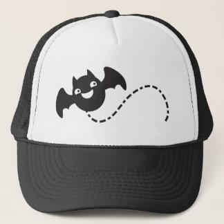 cute flying bat trucker hat