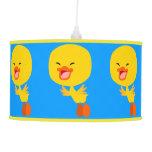 Cute Flying Cartoon Duckling Pendant Lamp