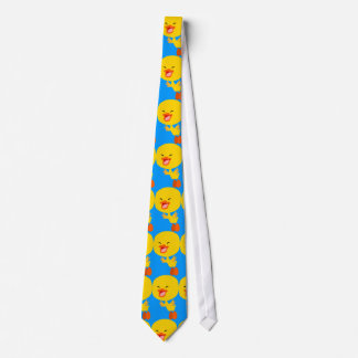 Cute Flying Cartoon Duckling Tie